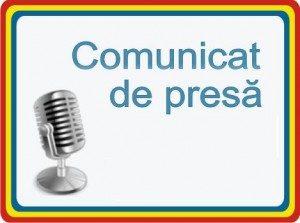 COMUNICAT DE PRESĂ - Agenţia de Plăţi şi Intervenţie pentru Agricultură (APIA)