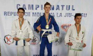 Vlad Lașcu, medaliat cu argint laCampionatul Republicii Moldova Open Internațional la Jiu-Jitsu ne-waza