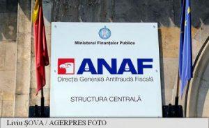 ANAF poate pune poprire pe conturi prin sistemul electronic, începând de vineri