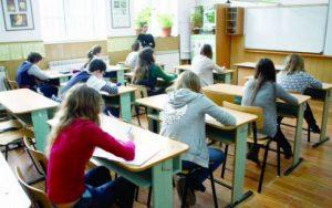 Evaluarea Națională: prima probă s-a desfășurat fără incidente, în toate centrele de examen din județ
