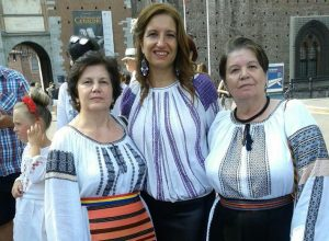 Larisa Axinia, originară din Sfântu Gheorghe, implicată în derularea unui festival dedicat promovării tradițiilor, meșteșugurilor și valorilor românești, la Milano