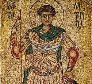 Sf. Mucenic Dimitrie - Izvorâtorul de Mir
