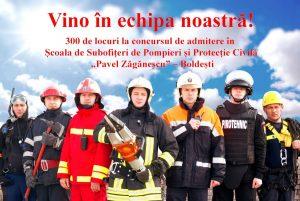 Poți deveni unul dintre cei 300 de viitori pompieri salvatori!