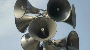 Exercițiu lunar pentru verificarea sirenelor de alarmare publică, astăzi
