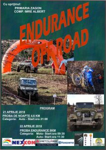 Endurance Off Road la Păpăuţi