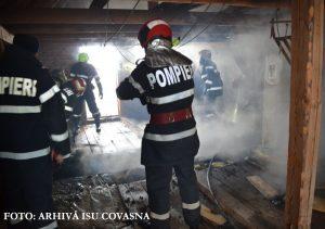 Peste 20 de incendii în ultimele trei luni, din cauza coşurilor de fum necurăţate sau deteriorate