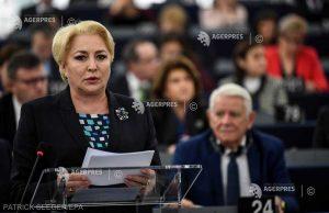 Dăncilă: Guvernul îşi asumă obiectivul de adoptare a monedei euro de către România în anul 2024