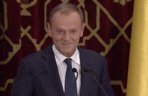 Donald Tusk, aplauze îndelungate la Ateneu după un discurs în limba român: România are puterea de a fascina