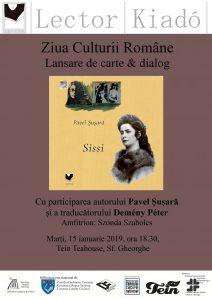 Dublă lansare a cărții criticului de artă și scriitoruluiPavel Șușară, la Sfântu Gheorghe
