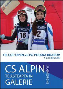 Juniorii CS Alpin, pe podium