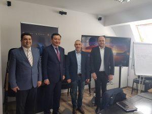 Ambasadorul Republicii Kazahstan s-a întâlnit cu întreprinzători din industria alimentară şi prelucrarea lemnului