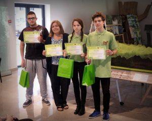 """Pregătiri pentru competiția """"Tineri în pădurile Europei"""""""