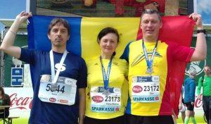 Alergători din Sfântu Gheorghe la faimosul Vienna City Marathon