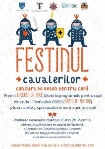 Festinul Cavalerilor din curtea Castelului Mikó şi din imaginaţia copiilor