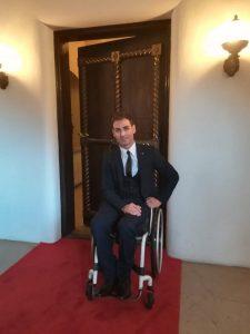 Sportivul Ciprian Anton, invitat la Palatul Elisabeta