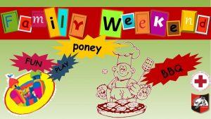 """Invitație la un """"Week-end în familie"""""""