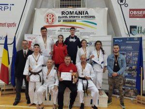 Sportivii secției de Arte marțiale a CSM Sfântu Gheorghe au obținut 32 de medalii -12 de aur, 8 de argint și 12 de bronz- la Campionatele Naționale de Ju-Jitsu 2019