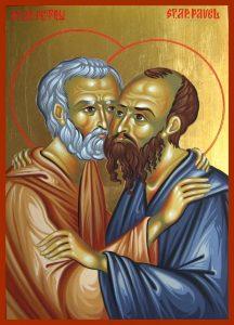 Tradiții -Sfinţii Apostoli Petru şi Pavel