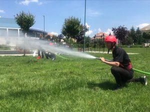 Pompierii covăsneni s-au întrecut , miercuri, la Concursul Serviciilor Profesioniste pentru Situații de Urgență, faza pe inspectorat.