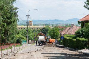 Au început lucrările de reabilitare a străzii Andrei Şaguna