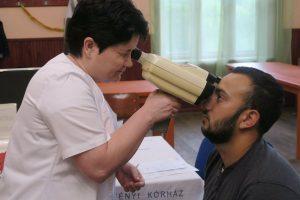 Mulți tineri s-au prezentat la screening-ul de la comuna Boroșneu Mare