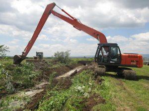 Lucrări de prevenire a inundațiilor în județul Covasna
