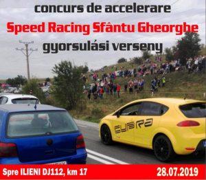 Concurs de Accelereare Auto SPEED Racing, la Sfântu Gheorghe  Restricții de circulație spre Ilieni!
