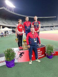O nouă medalie de aur pentru atleta Daniela Vasile