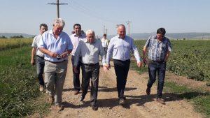 Petre Daea: Vrem să introducem în Planul Naţional de Irigare peste un milion de hectare de teren agricol