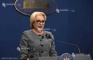 Dăncilă: Vom creiona paşii următori pe care-i va face PSD în privinţa guvernării la finele săptămânii, în CExN