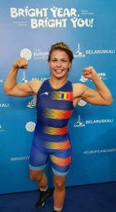 Medalie de bronz obținută de  Incze Kriszta, la Jocurile Europene de lupte libere