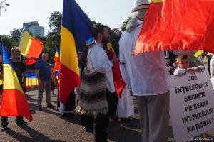 Românii au protestat împotriva noului Cod Administrativ