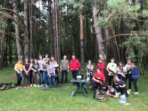 Activitate a asociației OPEN MINDS din Sfântu Gheorghe, dedicată tinerilor din județul Covasna