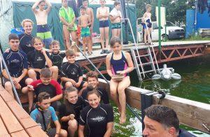 """Experiență inedită trăită de copii, la Centrul de scufundări subacvatice Dalnic, în cadrul proiectul """"EXPLORĂM LUMEA APELOR"""""""