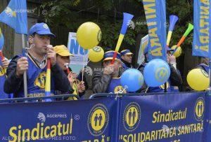 Sindicaliştii din sănătate anunţă proteste cu surprize pentru guvernanţi, faţă de introducerea evaluării în funcţie de performanţă
