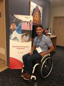 Covăsneanul Ciprian Anton, ambasador al sportului paralimpic din România: Sportivul a reprezentat Comitetul Paralimpic Român la un important eveniment din Lituania