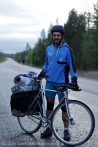 Ultraciclistul Bagoly Levente a încheiat Transcontinental Race (aproape 4.000 de kilometri) după 12 zile şi jumătate