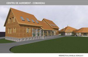 Centrul de agrement pentru tineret din localitatea Comandău a fost finalizat; investiţia-4,5 milioane lei