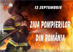 13 SEPTEMBRIE – Ziua Pompierilor din România. Scurt istoric