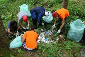 """""""Mișcare și curățenie în pădure"""", la Covasna"""