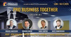 Conferință de afaceri, la Brașov
