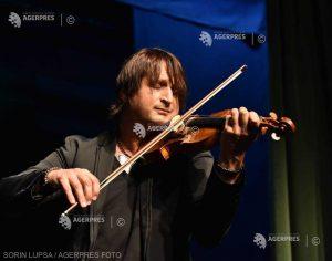 Violonistul Edvin Marton concertează luna viitoare la Sfântu Gheorghe