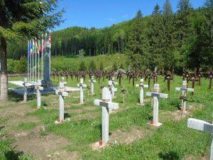 """Ziua Armatei Române va fi sărbătorită la Valea Uzului, """" în Cimitirul Internațional al Eroilor, cu 150 de torțe, pentru 150 de Inimi de Eroi ce bat în piepturile noastre!"""""""