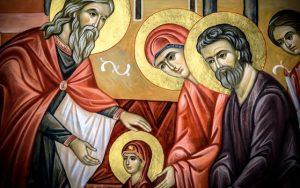 Intrarea în Biserică a Maicii Domnului sau Ovidenia