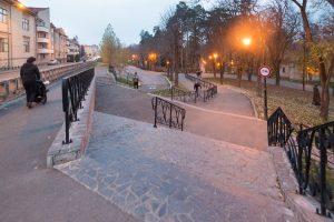 Noi balustrade în Parcul Central