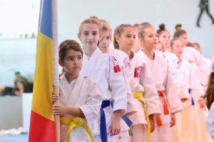 """ECHIPA DE AUR A ROMÂNIEI, fetele judoka U13-15 mixt, a câștigat aurul european la """"Cupa Europeană Judo Club"""""""