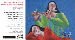 Elevi ai Școlii populare de Arte Sfântu Gheorghe în concert, astăzi, al CC Arcuș