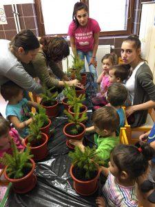 """În cadrul Campaniei """"Un copil, un brăduț"""", participanții au plantat nu doar brăduți, ci au plantat """"viață"""""""