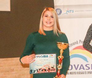 Luptătoarea Kriszta Incze, cea mai bună sportivă a anului în judeţul Covasna
