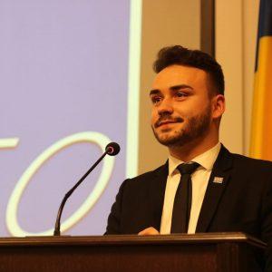 Un covăsnean, ales președinte al Uniunii Studenților din România